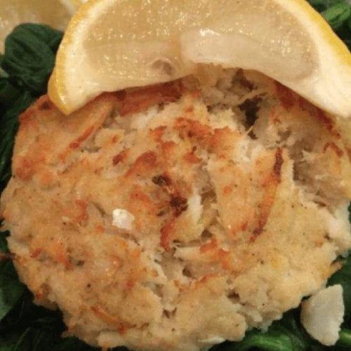 Lemon Zest Crab Cakes