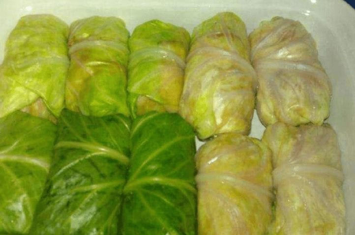 Cabbage Wrapped Egg Rolls