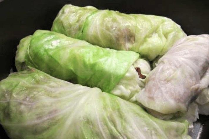 Mini Stuffed Cabbage Rolls