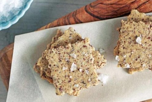 Almond Crisp Crackers