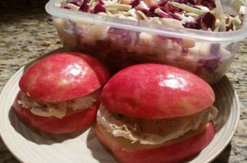 Apple Chicken Sandwich w/ Sweet Slaw