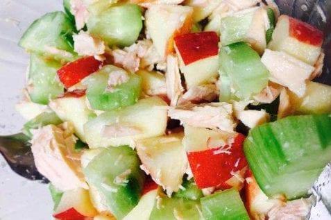 Apple Cucumber Tuna Salad