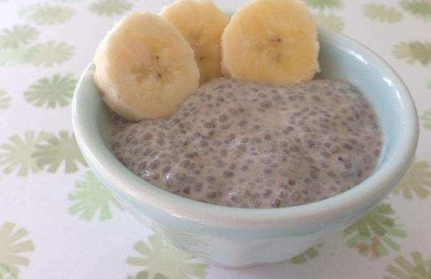 Banana Chia Pudding