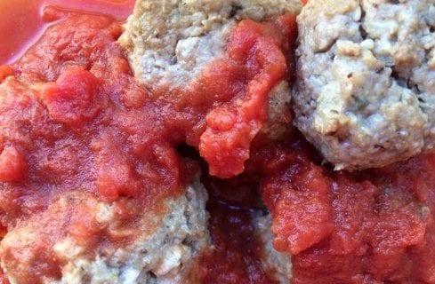Bison Mushroom Meatballs