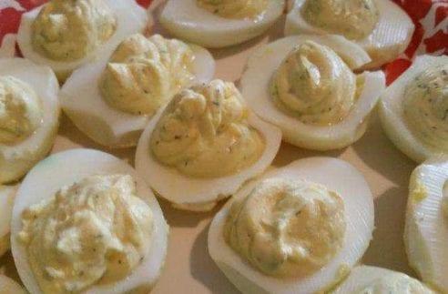 Dairy-free Deviled Eggs