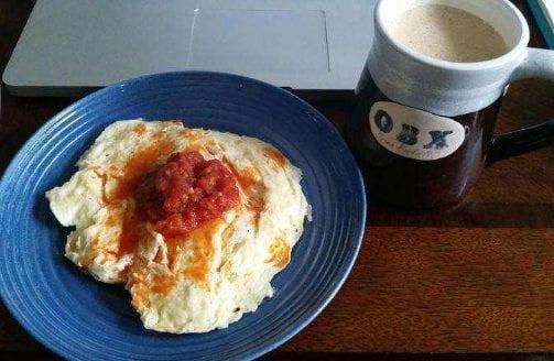 Hot Scrambled Eggs