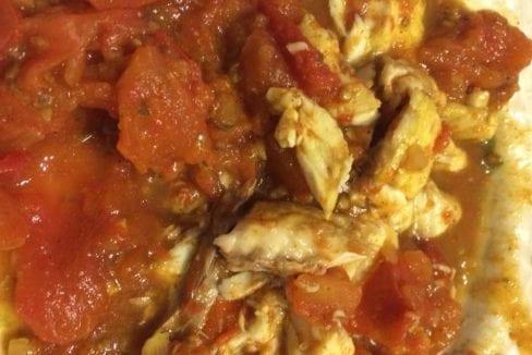 Spicy Tomato Snapper