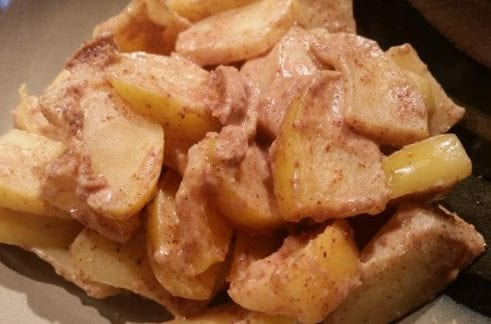 Apples in Salted Caramel Sauce