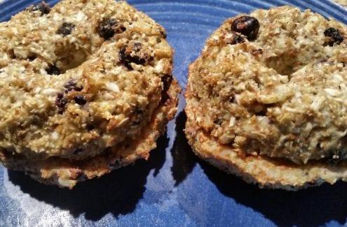 Blueberry Cauliflower Bagels