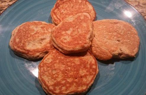 Coconut Flour Flax Pancakes