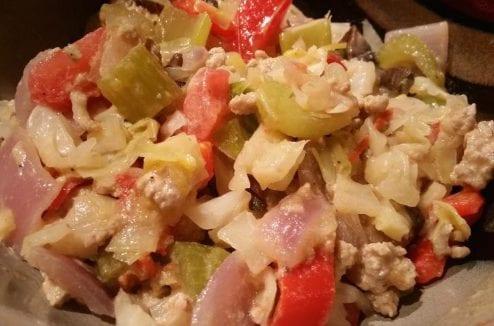Creamy Chicken & Veggie Bowl