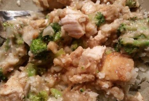 General Tso Chicken & Broccoli