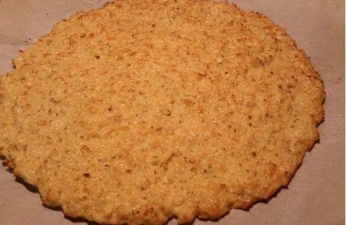 Goat Cheese Cauliflower Pizza Crust