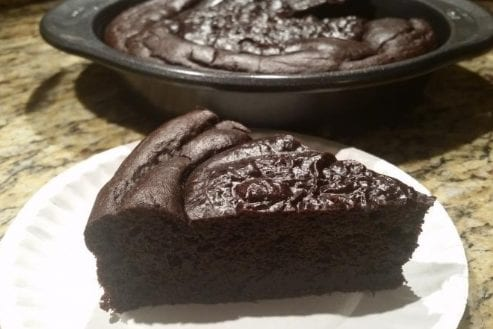 Chocolate Nut Butter Cake