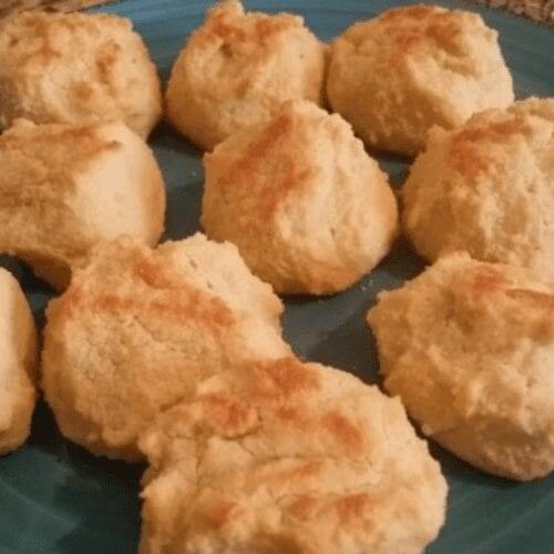 Tapioca Flour Dinner Rolls (Biscuits)
